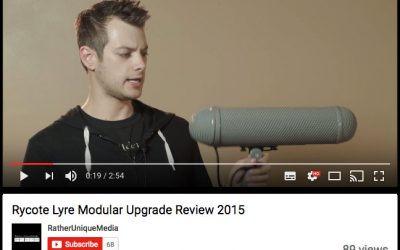 Rycote Lyre Modular Upgrade Review by Rather Unique Media