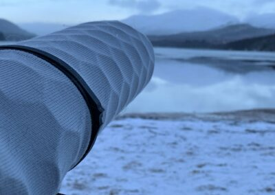 Nano-Shield in Scotland Snow by Pete Lee